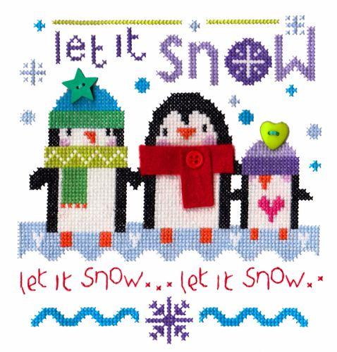 Snowy Penguins - Includes Felt Applique
