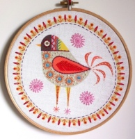 Birdie 4 Embroidery Kit - Nancy Nicholson