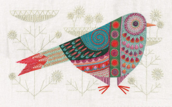 Cuckoo Embroidery Kit - Nancy Nicholson