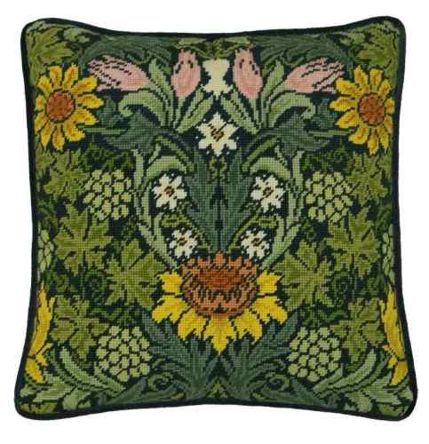 William Morris Sunflowers Tapestry Kit - Bothy Threads