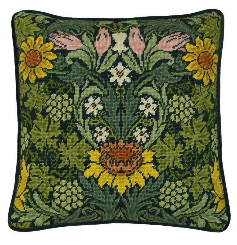 William Morris Sunflowers Tapestry Kit - Bothy Threads