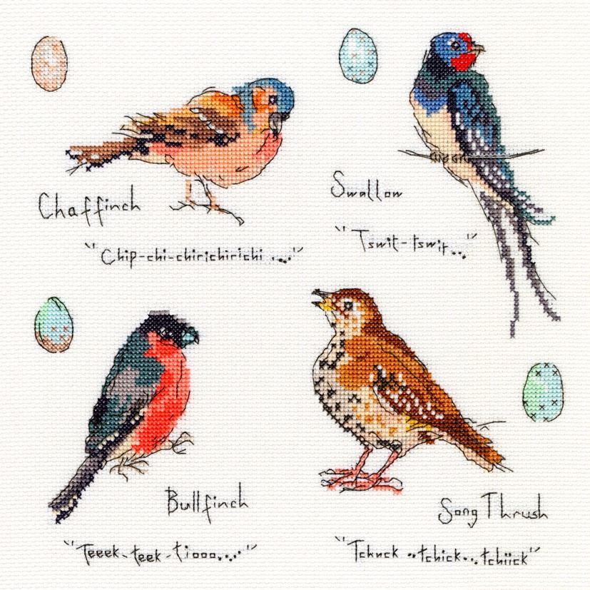 Garden Birds 3 - Bothy Threads