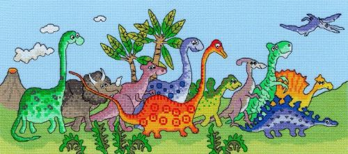 Dinosaur Fun - Bothy Threads