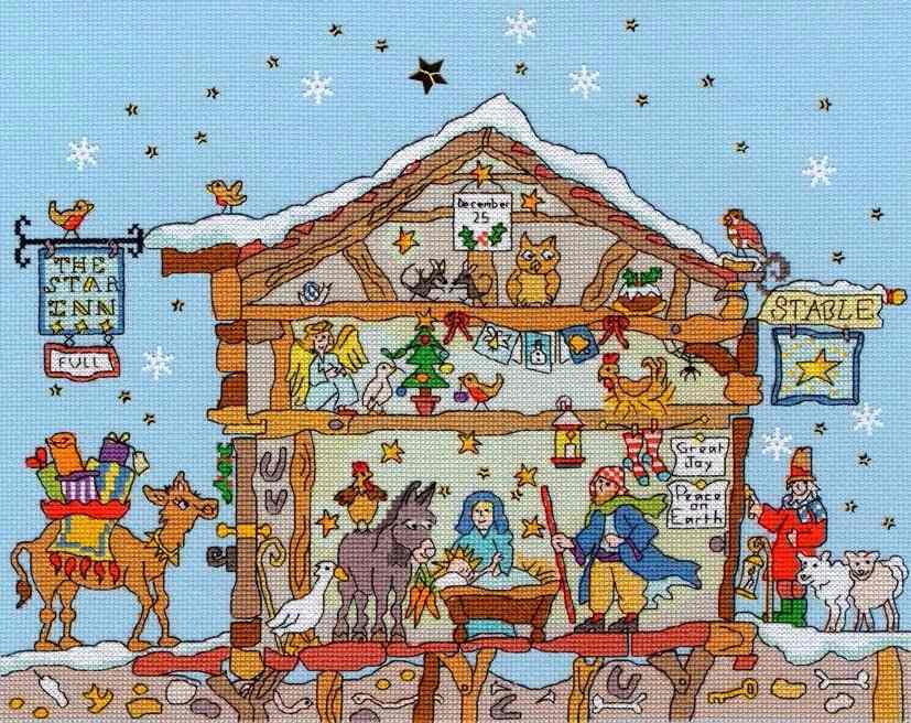 Nativity - Bothy Threads Cut Thru'
