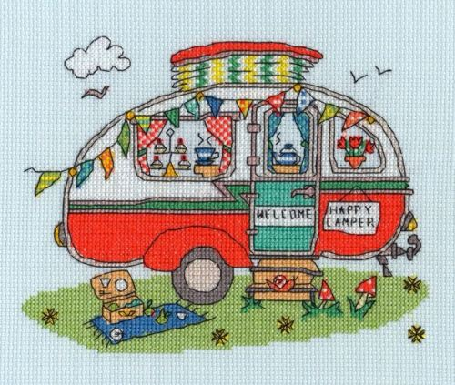 Sew Dinky Caravan - Bothy Threads