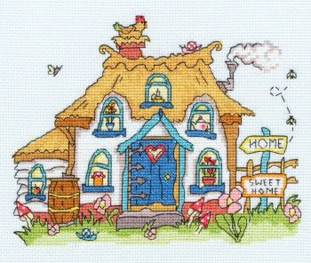 Sew Dinky Cottage - Bothy Threads Cross Stitch