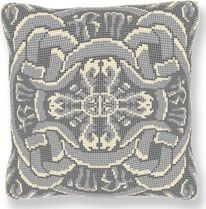 Clarendon Marble -  Cross Stitch (printed canvas)