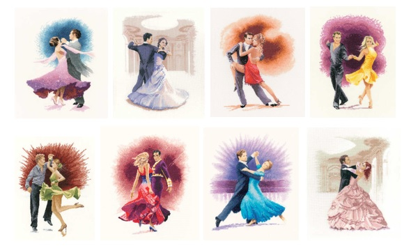 Strictly Come Dancing cross stitch