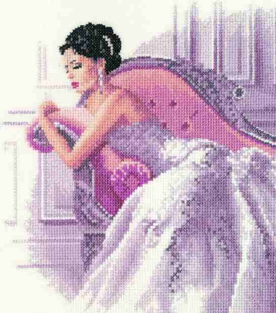 Vanessa Elegance Cross Stitch