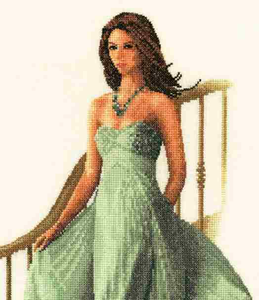 Louisa Elegance Cross Stitch