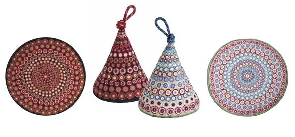 Millefiori tapestry kits