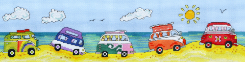 VW Fun -  Bothy Threads Cross Stitch