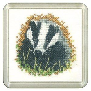 Badger Coaster Kit - Heritage Crafts
