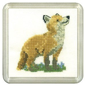 Fox Coaster Kit - Heritage Crafts