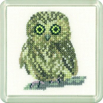 Owl Coaster Kit - Heritage Crafts