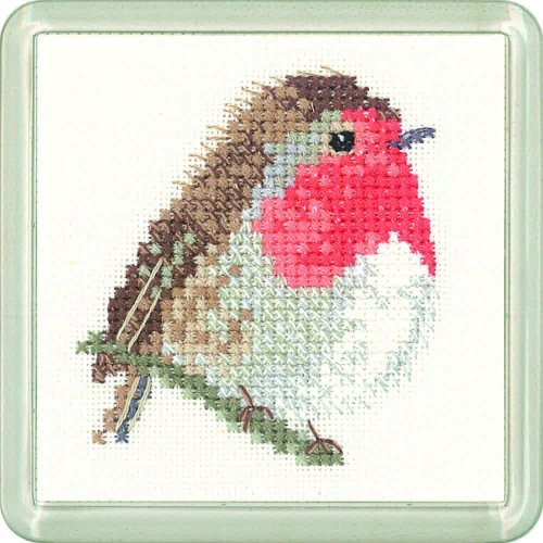Robin Coaster Kit - Heritage Crafts
