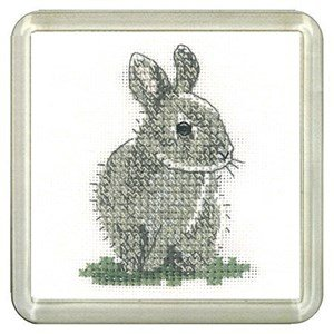 Baby Rabbit Coaster Kit - Heritage Crafts