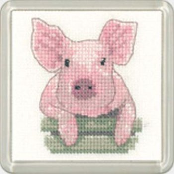 Pig Coaster Kit - Heritage Crafts