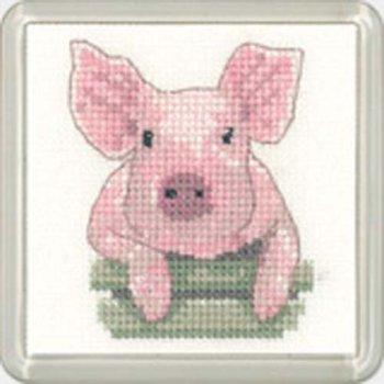 Pig Coaster Kit - Heritage Crafts