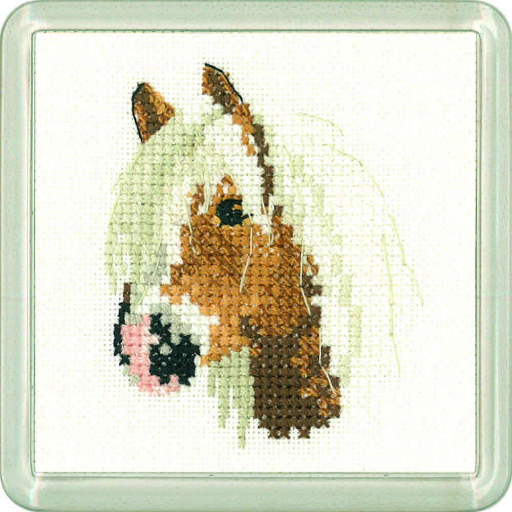 Palamino Pony Coaster Kit - Heritage Crafts