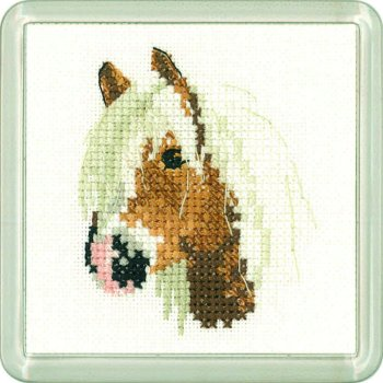 Palamino Pony Coaster Kit - Heritage Crafts