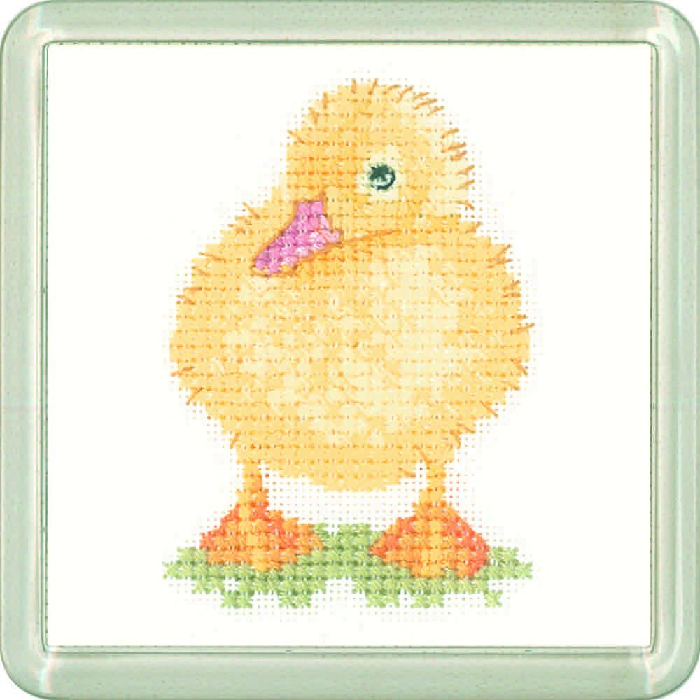 Duckling Coaster Kit - Heritage Crafts