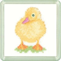 Duckling Coaster Kit - Heritage Crafts