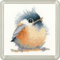 Chickadee Coaster Kit - Heritage Crafts