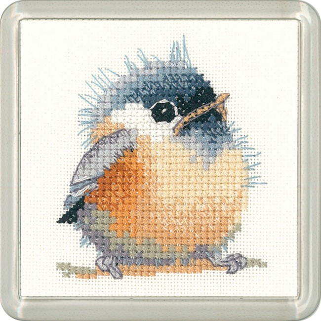 Chickadee Coaster Kit - Heritage Crafts
