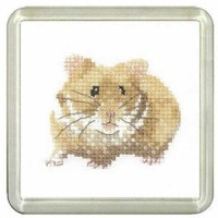 Hamster Coaster Kit - Heritage Crafts