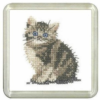 Tabby Kitten Coaster Kit