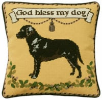 Labrador Gold Tapestry Kit (Plain Canvas)