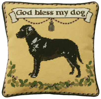 Labrador Gold Tapestry Kit (Charted)