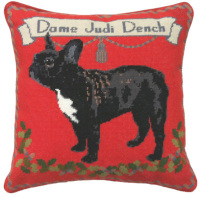 French Bulldog Tapestry Kit (Plain Canvas)