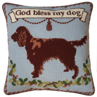 Brown Spaniel Tapestry Kit (Plain Canvas)