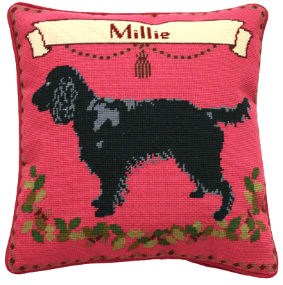 Black Spaniel Tapestry Kit (Charted)
