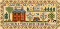 Friend's House - Moira Blackburn Cross Stitch