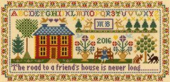 Friend's House - Moira Blackburn Cross Stitch