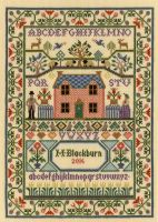 Country Cottage - Moira Blackburn Cross Stitch