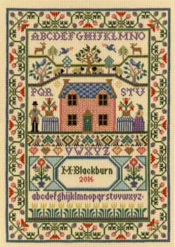 Country Cottage - Moira Blackburn Cross Stitch