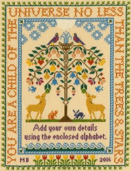 Tree Of Life - Moira Blackburn Cross Stitch