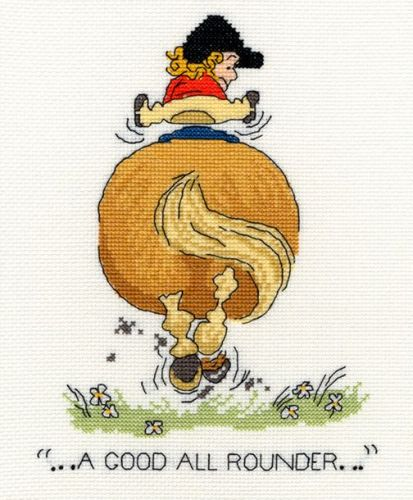 A Good All Rounder - Thelwell Cross Stitch