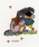 Hugs - Thelwell Cross Stitch