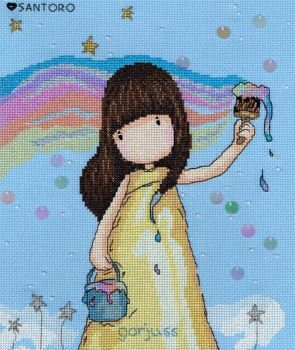 Rainbow Dreams - Gorjuss Cross Stitch