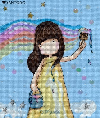 Rainbow Dreams - Gorjuss Cross Stitch
