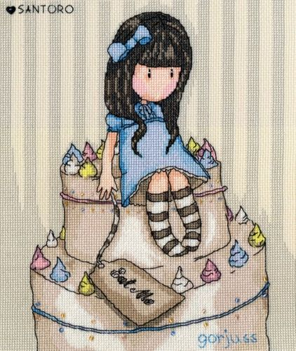 Sweet Cake - Gorjuss Cross Stitch