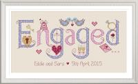 Engaged Sampler Kit - Nia Cross Stitch