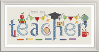 Thank You Teacher Sampler Kit - Nia Cross Stitch