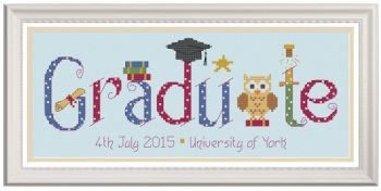 Graduation Sampler Kit - Nia Cross Stitch