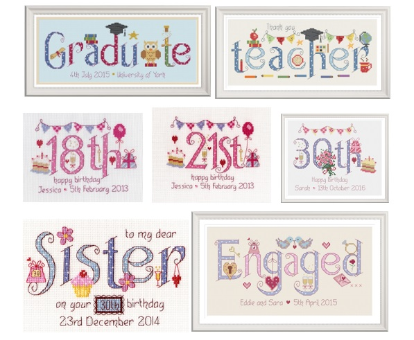 nia cross stitch samplers